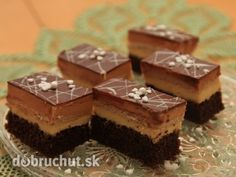 Rezy TRIBIT - Vždy keď sa mi zapáči nejaký recept, opíšem si ho a vyskúšam. Czech Recipes, Ethnic Recipes, Cake Bars, 20 Min, Tiramisu, Cheesecake, Food And Drink, Dessert Recipes, Sweets