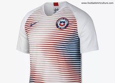 #football #soccer #futbol #nikefootball #nikesoccer Chile 2018 Nike Away Kit