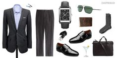 Style Scenario: Business mixed with Pleasure Lunch by Dappered.com