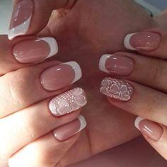 60 Pretty Pink Short Square Nails For Spring Nails Design - Acrylic Nail Shapes, Summer Acrylic Nails, Best Acrylic Nails, Spring Nails, Summer Nails, Short Square Acrylic Nails, Short Square Nails, Square Nail Designs, Nail Art Designs