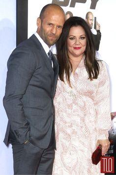 Jason Statham Melissa McCarthy Spy New York Premiere-