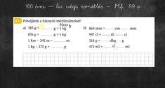 Matematika 3. osztály - Év végi ismetlés 5. VIDEÓ - Kalauzoló - Online tanulás