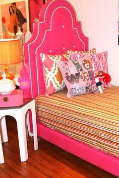 For Bailey Little Beds Bedrooms Modern Kids Furniture Tufted Bed