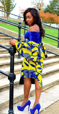 Vibrant Mixed coloured Ankara print dress custom made with velvet and designed to fit perfectly to your silhouette. It is made with cotton Ankara fabric and soft velvet. Designed to give elegance and style for that special occasion. It measures 42 inches Latest Ankara Short Gown, Ankara Short Gown Styles, Trendy Ankara Styles, Ankara Gowns, Kente Styles, Ankara Skirt, African Fashion Designers, African Print Fashion, Africa Fashion