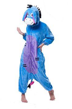LIHAO Kleiner Esel Onesie Pyjamas Schlafanzug unisex Erwachsene Nachtwäsche Anime Cosplay Halloween Kostüm Kleidung Tier- http://www.amazon.de/dp/B00UFCJV9Y