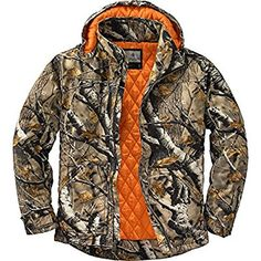 1efe82a9fa5 Legendary Whitetails Canvas Cross Trail Workwear Jacket Big Game Field Camo  X-Large Heavy duty 10 oz. sanded canvas Features a full 210 grams of  insulation ...