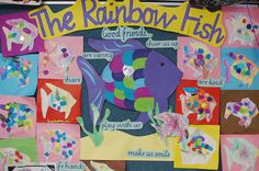 Rainbow Fish--friendship theme
