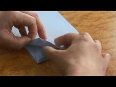 Advanced Origami Folding Instructions : The Origami Crane Card: Part 2