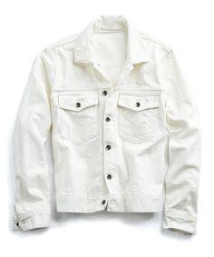 415797e2fa2c Made in L.A. Denim Jacket in White
