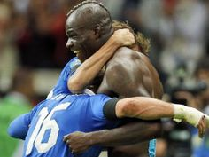 Super Mario double downs Germany as Italy march on --Euro 2012
