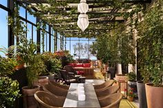 18 NYC Venues Fit For Your Next Big Bash #refinery29 http://www.refinery29.com/49687#slide2  SUNSET VIEWSThe NoMad Hotel You might want to book this one ASAP. The 1,950-square-foot rooftop at this downtown hotel (situated in a turn-of-the-century Beaux Arts building) is now available to book for private events, with food catered by the acclaimed Chef Daniel Humm of Eleven Madison Park.The NoMad Hotel, 1170 Broadway (at 28th Street); 212-796-1500.JIMMY at The James For hot summer ...