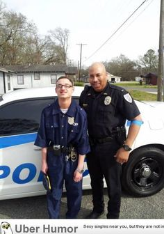 Blaize is an 18 yr old autistic child with mental dissabilities. His dream when he turned 18 was to become a police officer. He later got a tour of the Police office, a ride in a cop car, and this officer Mike Hill visits him regularly.
