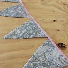 Paisley Bunting by SewphiesChoice on Etsy