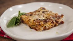 Silverbeet and Ricotta Cannelloni - Recipe from Everyday Gourmet with Justine Schofield