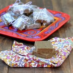 2. Healthy Gingerbread Protein Bars