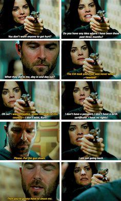 I don't want anyone to get hurt. #Jeller #Blindspot #Season2 #2x01