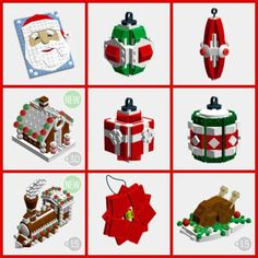 Let the kids loose this Holiday season with these festive Christmas Lego Decorations. The printable Lego building guide is available free. Each guide comes with complete instructions just like a no…