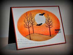 SU White Christmas Stamp Set - Fright Night Card (10.9.14)