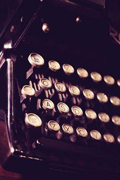 vintage typewriter love