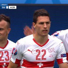 Euro: Schar goal -- Switzerland (5')