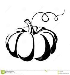 Black And White Pumpkin Clipart