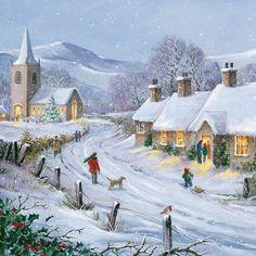 winter christmas cards - Google'da Ara