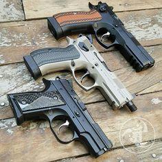 Balkan Family. @czusafirearms  SP01 Tactical  Urban P01 2075 Rami  #gunsdaily…