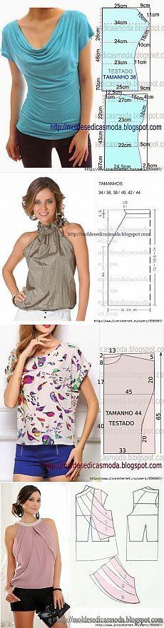 шьем блузки