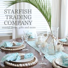 Starfish Trading Company New Etsy items, New shop at The Shabby Shack in Apollo Beach, FL, and upcoming holiday market info... www.starfishcottageblog.com