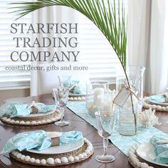 Starfish Trading Company New Etsy items, New shop at The Shabby Shack in Apollo Beach, FL, and upcoming holiday market info... www.starfishcottageblog.com