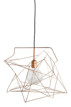 "Lampenschirm ""Asymmetric"" Copper - Lampen - Wohnen - Shabby-Style.de"