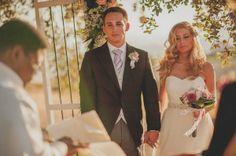 Real Weddings: Stefani and Christian's Spanish Wedding