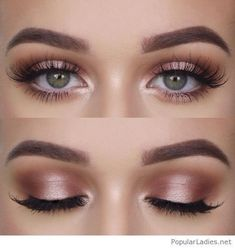 Natural makeup for green eyes, love it - - Natural makeup for green eyes, love it Beauty Makeup Hacks Ideas Wedding Makeup Looks for Women Makeup Tips Prom Makeup ideas Cut Natural Makeup Hallo. Makeup Inspo, Makeup Inspiration, Makeup Style, Makeup Geek, Style Inspiration, Wedding Inspiration, Natural Summer Makeup, Simple Prom Makeup, Prom Make Up Natural
