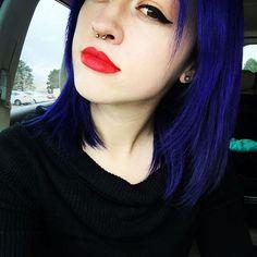 #purplehair #redlips #overtone #overtonehair #overtonehaircolor #overtonecolor