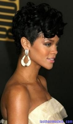 rihanna new hair style rihanna shorn nape undercut lack hair of 1623 | fa9ae64d5d8ee124f5cc6f6206e98be3