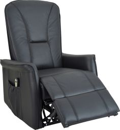 canap de relaxation lectrique 2 places ergonomiques en microfibre elfe avec fabiance. Black Bedroom Furniture Sets. Home Design Ideas