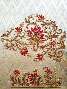 8220397799 Best Blouse Designs, Bridal Blouse Designs, Blouse Neck Designs, Sleeve Designs, Embroidery Neck Designs, Hand Embroidery Videos, Maggam Work Designs, Hand Work Blouse Design, Hand Designs