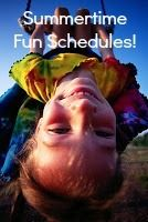 What do you do with the kids all summer? Come up with a fun day of the week schedule!: Summer Schedules...
