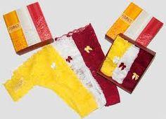 Resultado de imagem para lingerie vermelha e amarela