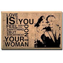 Customized Wooden Plaque - Love