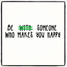 I love this! You do not need to be in a relationship to be happy, the only true relationship to lift your spirits is with Christ anyway! Although, when someone does come along, it's definitely a plus if they can make you happy(: