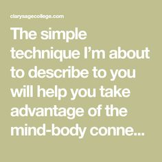 """The simple technique I'm about to describe to you will help you take advantage of the mind-body connection by releasing stress and improving your overall health and attitude. No special equipment is needed and with only a little practice you can become proficient in this stress relief technique. First, sit with your back straight but … Continue reading """"How To Take a Vacation Where You Are"""""""