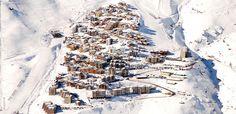 Estação de Esqui La Parva em Santiago do Chile #chile #viagem