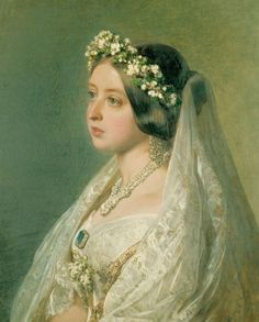 Queen Alexandrina Victoria By ~ Franz Xaver Winterhalter.