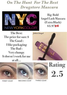 I didn't have luck with this mascara. I love the price but it doesn't work for me at all. Drugstore Mascara, Best Mascara, Lashes, Tips, Eyelashes, Eye Brows, Counseling