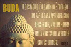 Buda também é uma inspiração.