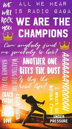 Music Rock Wallpaper Life 49 Ideas For 2019 Freddie Mercury Quotes, Queen Freddie Mercury, Queens Wallpaper, Music Wallpaper, Rock Bands, Band Band, Digital Foto, Queen Aesthetic, Queen Meme