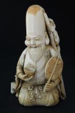 Japanese Edo Period, 19th Century Ivory Okimono,