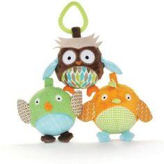 Skip Hop Treetop Friends Animal Ball Trio -   - http://babyentry.com/baby/baby-toddler-toys/balls/skip-hop-treetop-friends-animal-ball-trio-com/