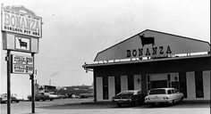 Bonanza #483 on Pershing Rd Decatur Illinois during the 1960s Check out the price of a steak dinner